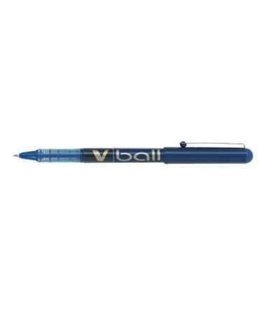 Ròl·ler Pilot V-Ball. 0,5 mm. Color blau