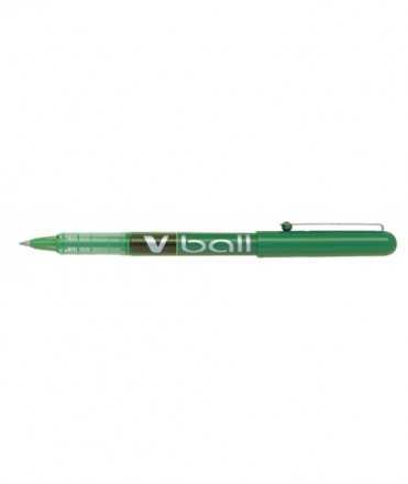 Ròl·ler Pilot V-Ball. 0,5 mm. Color verd