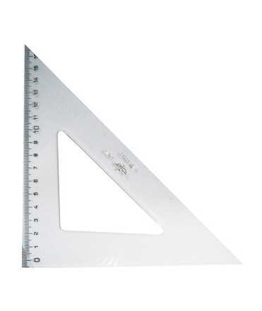 Cartabó mil·limetrat. Mida: 15 cm