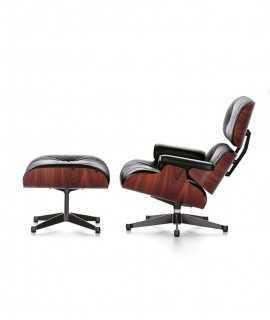 Conjunt Lounge Chair & Ottoman Negre