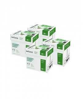 4 Cajas, 20 paquetes. Papel Navigator DIN A4, 80 g. 500 hojas