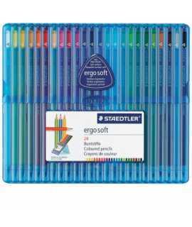Llapis de colors Triplus Ergosoft Slim. 24 unitats
