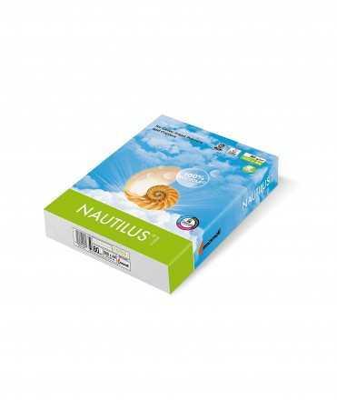 Paper Nautilus Reciclat DIN A3, 80 g. 500 fulls