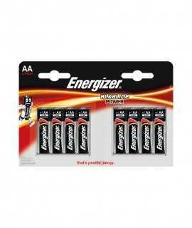 Piles AA Energizer 1,5V, LR06. 8 unitats