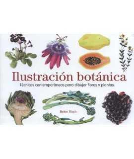 Ilustración botánica.Técnicas contemporáneas para dibujar flores y plantas.