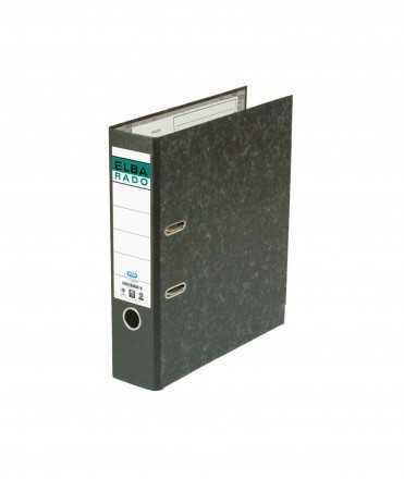 Arxivador ample, llom de 7,5 cm. Mida: 32x29x7,5 cm. Color negre