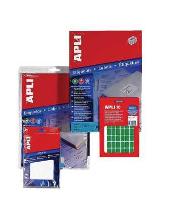 Etiquetes autoadhesives en sobre. Mida: 34x67 mm. Color blanc. 60 unitats.