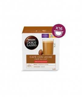 Café con leche descafeinado Dolce Gusto, 16 cápsulas