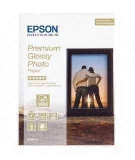 Papel fotográfico Epson Premium Glossy Photo DIN A4, 255g. 15 hojas x 2 paquetes
