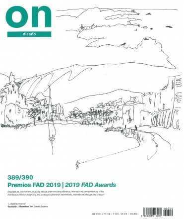 ON DISEÑO 389/390  PREMIOS FAD 2019