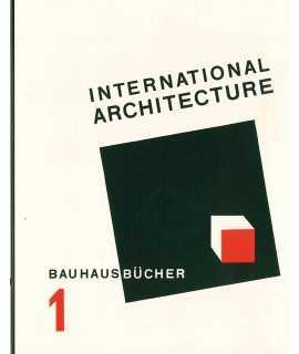 INTERNATIONAL ARCH.:BAUHAUSBUECHER
