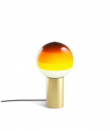 Lámpara de mesa Dipping Light ámbar, pequeña