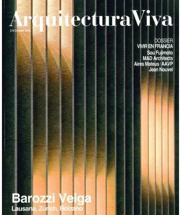 Arquitectura Viva, 218 Barozzi Veiga