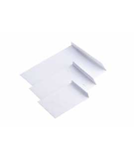Bossa Autodex Unipapel, color blanc. Mides: 22,9x32,4 cm.