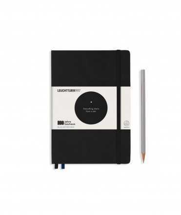 Llibreta Bauhaus A5, Negre