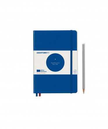 Libreta Bauhaus A5, Azul
