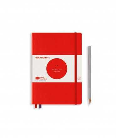 Llibreta Bauhaus A5, Vermell