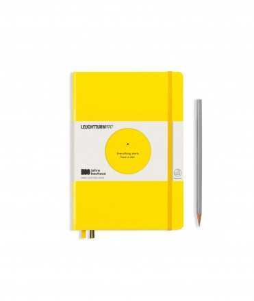 Llibreta Bauhaus A5, Groc