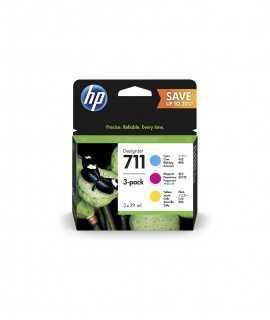 Multipack HP 711 cian, magenta, amarillo. P2V32A