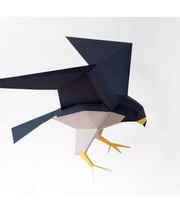 Pájaro de papel - Falco Peregrinus