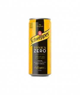 Schweppes tònica Zero, llauna 33cl