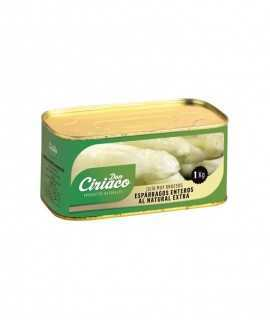 Don Ciriaco espàrrecs extra 13/16 llauna 1Kg