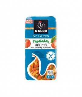 Gallo hèlices vegetals sense gluten 500gr
