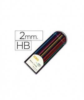 12 minas de colores de 2mm