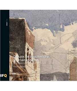 Dibujos de arquitectura y ornamentación de la Biblioteca Nacional de España.Siglo XIX. T.III-V.1-2