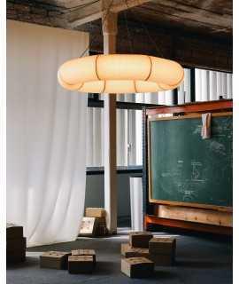Lámpara Tekiò P2 Horizontal Circular, 120 cm
