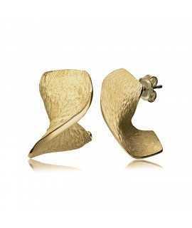 ENCENALLS.Pendientes chapados en oro