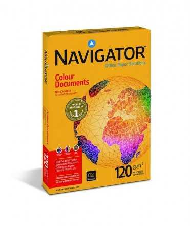 Paper Navigator, DIN A4, 120 g. 250 fulls.