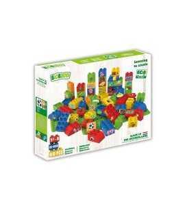 Juego de construcción Biobuddi, 60 piezas