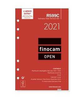 Recambio anual Finocam Open 2021, semana vista vertical catalán