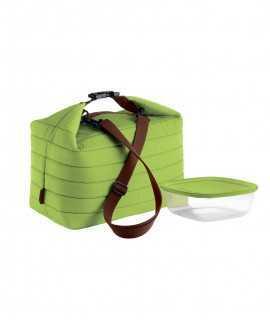 Bossa tèrmica i recipient Handy, Verde