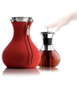 Tetera 'Teashirt'. Color rojo