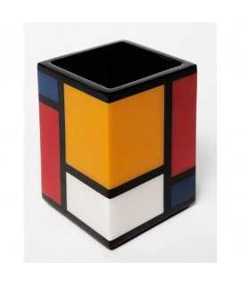 Portalápices Mondrian