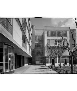 F. Català-Roca. Dispensari Central Antituberculós, Barcelona (1934-1938)
