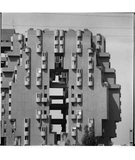 F. Català-Roca. Edificio de viviendas Walden 7, Sant Just Desvern (1970-1974)
