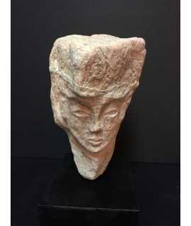Col·lecció Pedres: Cap de dona