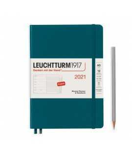 Agenda semana vista y notas A5 2021, Leuchtturm1917