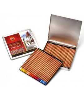 Capsa 24 llapis de colors per a pastel Koh-i-Noor
