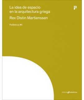 La idea de espacio en la arquitectura griega