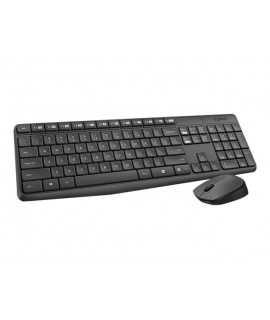 Teclado y ratón inalámbrico Logitech Desktop MK235
