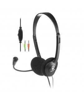 Auriculares con cable y micrófono MS103