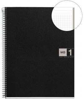 Llibreta Note Book A5, quadrícula gris