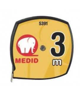 Flexómetro Medid, 3m.