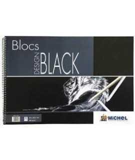 BLOC A4 MICHEL DESIGN BLACK