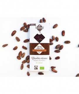 Xocolata negra bio 65% cacau, origen Perú
