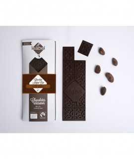 Xocolata negra bio 73% cacau, origen Ecuador